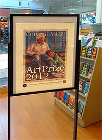 Courage Ablaze featured at Barns & Noble of Rivertown Mall