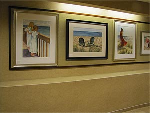 Pamela being featured in Guest Artist Series at Saint Mary's Hospital in Grand Rapids